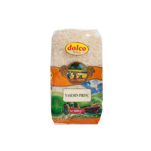 Dolco Gold Jasmin Pirinç 1kg nin resmi