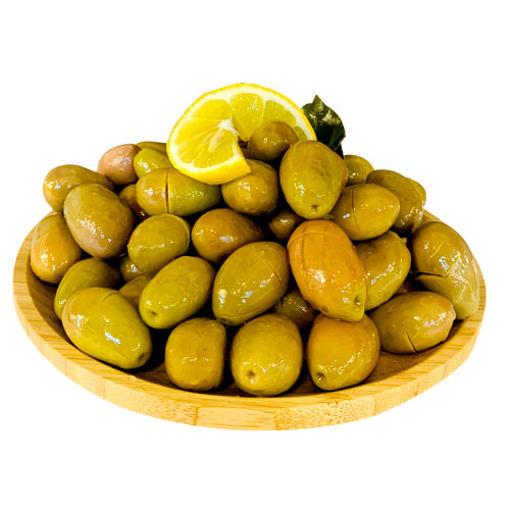 Sarıyer Gurme Teke Kırma Yeşil Zeytin Kg nin resmi