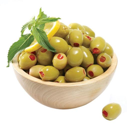 Sarıyer Gurme Yeşil Biberli Zeytin Kg nin resmi