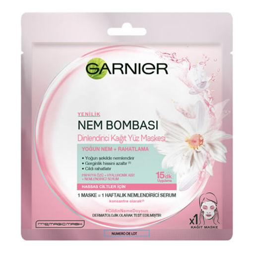Garnier Maske Nem Bombasi Pembe 32gr nin resmi