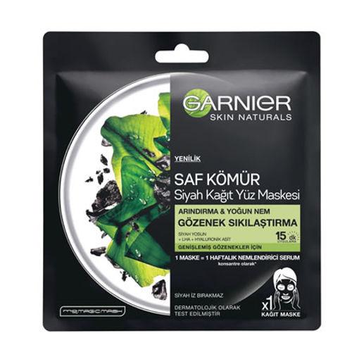 Garnier Kagit Maske Siyah Çayli 36gr nin resmi