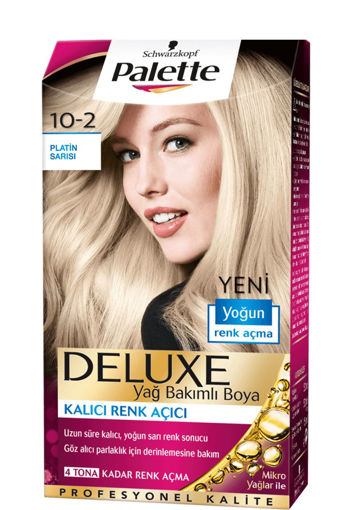 Palette Deluxe 10-2 Platin Sarisi nin resmi