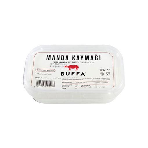 Bufala Manda Kaymak 150gr nin resmi