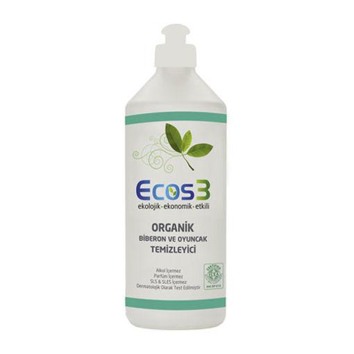 Ecos3 Organik Biberon Ve Oyuncak Temizleyici 500ml nin resmi