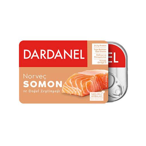 Dardanel Norvec Somon Konserve 100gr nin resmi