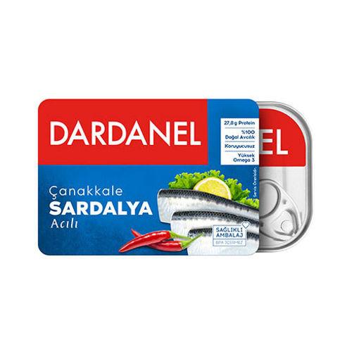 Dardanel Acili Sardalya 105gr nin resmi