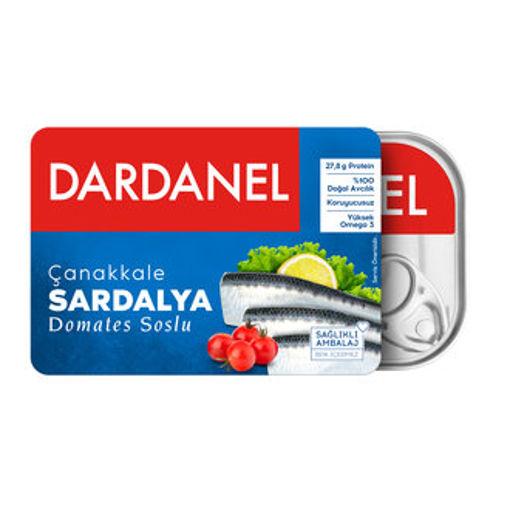 Dardanel Domates Soslu Sardalya 105gr nin resmi