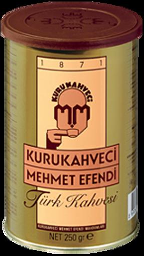 Kurukahveci Mehmet Efendi Kahve Kutu 250gr nin resmi