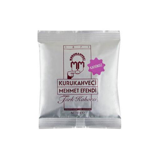 Kurukahveci Mehmet Efendi Kahve Kafeinsiz 50gr nin resmi