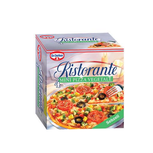 Dr Oetker Ristorante Veget Pizza 4 Lu 680 Gr nin resmi