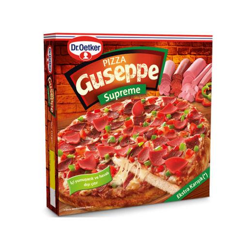 Dr Oetker Pizza Guseppe Supreme 415gr nin resmi