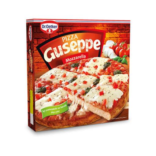 Dr Oetker Pizza Guseppe Mozarella 412gr nin resmi