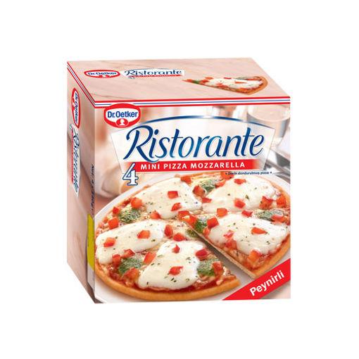 Dr.Oetker Ristorante Pizza Mozzarella 4 Lü 560 Gr. nin resmi