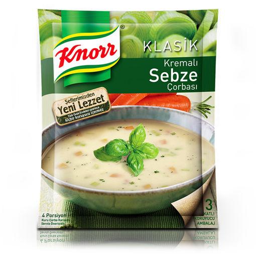Knorr Kremali Sebze Çorbasi 4 Kişilik 65gr nin resmi