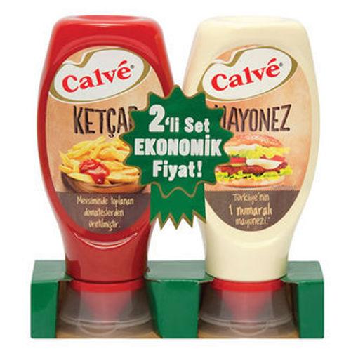 Calve Ketcap 400gr+Mayonez 350gr nin resmi
