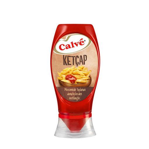 Calve Ketcap 600gr Tatli nin resmi
