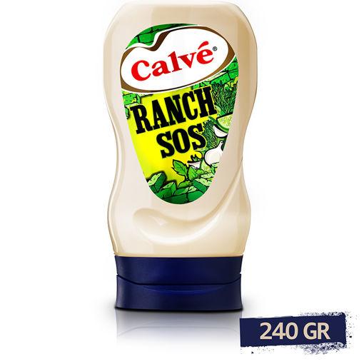 Calve Ranch Sos 245gr nin resmi
