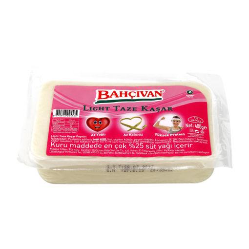 Bahçivan Light Taze Kaşar Peyniri 400gr nin resmi