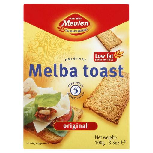 Melba Toast 100g Original Kare nin resmi