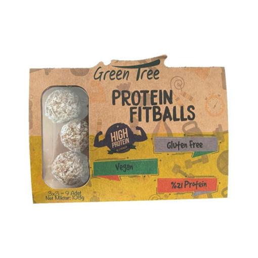 Green Tree Protein Fitballs 108 Gr nin resmi