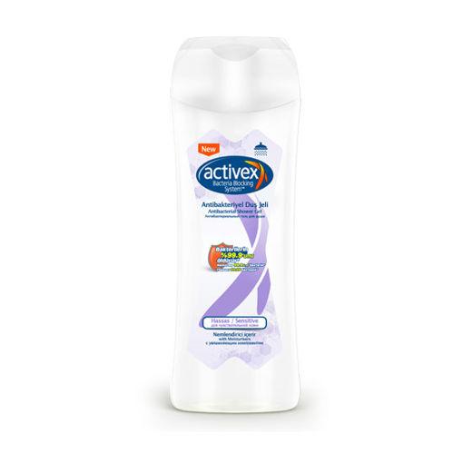 Activex Antibakteriyel Duş Jeli Hassas 450ml nin resmi
