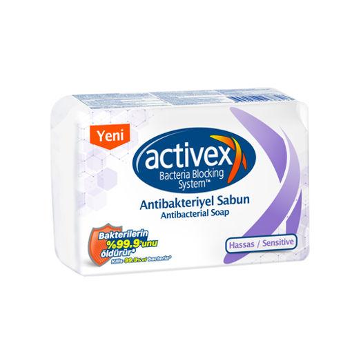 Activex Antibakteriyel Sabun Hassas 4x80 Gr nin resmi