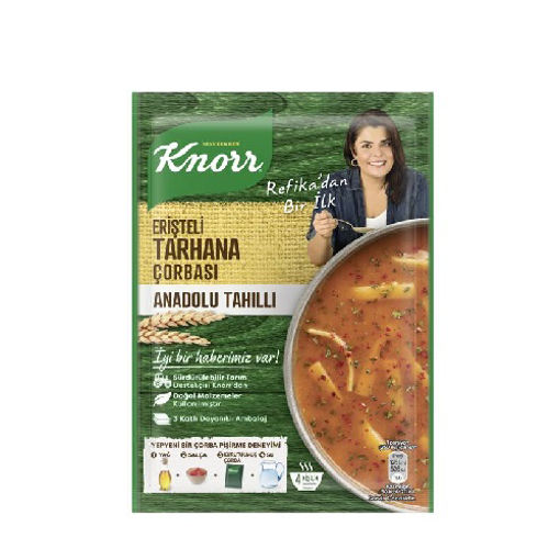 Knorr Yöresel Çorba Anadolu Tarhana75gr nin resmi