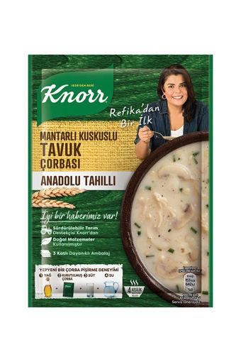 Knorr Yöresel Çorba Anadolu Tavuk 75gr nin resmi