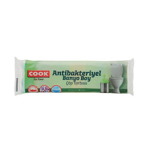 Cook Antibakteriyel Banyo Çöp Torbası 30 Lu nin resmi