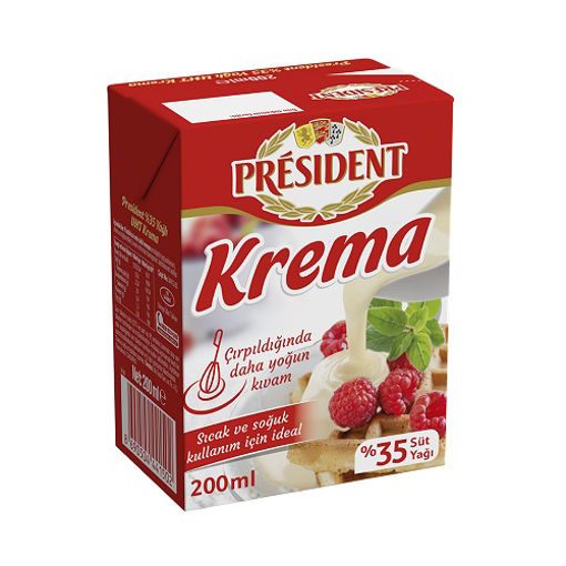 President Krema 200ml nin resmi