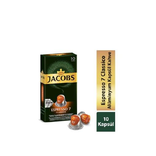 Jacobs Capsule Espresso 7 Classic 52gr nin resmi