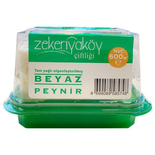 Zekeriyaköy Çiftliği İnek Beyaz Peyniri 600 Gr nin resmi