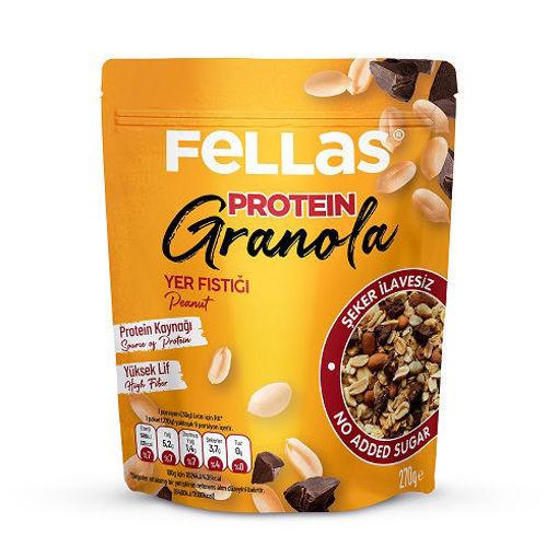 Fellas Protein Granola Yer Fıstığı 270 Gr nin resmi