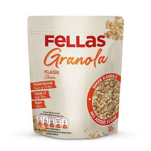 Fellas Vegan Granola Klasik 300 Gr nin resmi