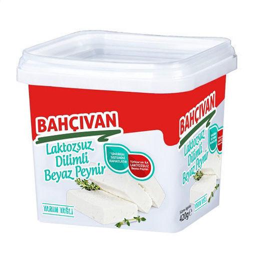 Bahçıvan Dilimli Yarım Yağlı Laktozsuz Beyaz Peynir 420 Gr nin resmi